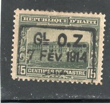 Haiti Scott # 189  - MLH -  F-VF - Type 1 ovpt.