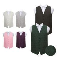 Highest Quality Paisley Floral Men's Wedding Waistcoat Gentleman Tuxedo Vest
