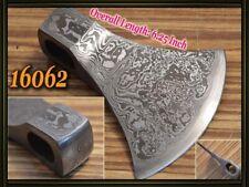 "6.25""Custom made Damascus steel hatchet axe head ,knife making suppliers 16062"
