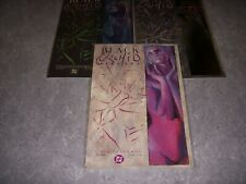 BLACK ORCHID BOOKS #1-3, NEIL GAIMAN, DC COMICS, 1988, NM+ 9.6!