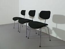 Egon Eiermann 1 x Stuhl Se 68 Wilde & Spieth Stoff schwarz