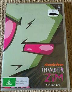 Invader Zim Season 1 DVD 4 Disc Set Sealed New R0