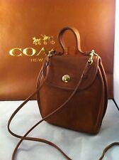 "COACH Rare Vintage Cross Body / Messenger Bag  Bonnie Cashin Era 7.5"" X 2"" X 7"""