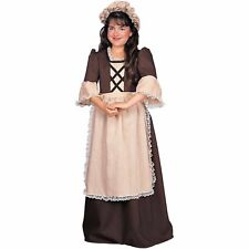Rubie'S Colonial Girl Brown Child Halloween Costume Small 882625