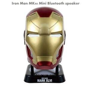 Genuine Camino Iron man MK46 mini bluetooth speaker(V2.0)