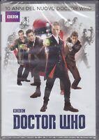 4 Dvd Box Cofanetto **DOCTOR WHO - 10 ANNI DEL NUOVO DOCTOR WHO** nuovo