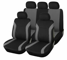 Opel Mokka Grau Universal Sitzbezüge Sitzbezug Autositz Schonbezüge Elegance P4