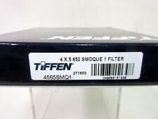 """New Tiffen 4x5.65"""" Smoque 1 Filter 4565SMQ1"""