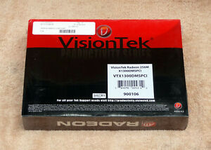 Visiontek ATI Radeon X1300 256MB PCI Video Card DMS-59 VTX1300DMSPCI 900106