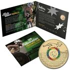 2016 Australian Paralympic Team 2016 $2 Coloured Uncirculated Coin In Folder
