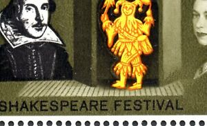 1964 Sg 646/450 Shakespeare Unmounted Mint - 6d 'Missing Floorboards' Flaw