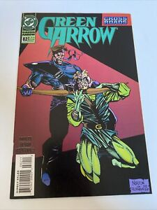 Green Arrow #82 DC Comic Book January 1994 Cross Roads Dooley Aparo Fernandez