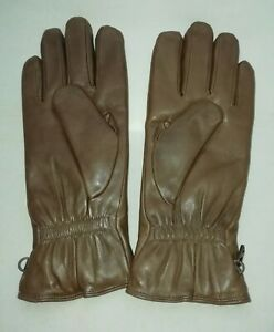 BROWN LEATHER MK2 COMBAT GLOVES - Size: 9 , British Army Issue , New