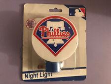 MLB PHILADELPHIA PHILLIES Plug-In Night Light -- PHILLIES - Free Shipping -- NEW