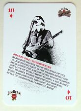 Sharin Foo Raveonettes Jim Beam Music Idol Collectors Playing Card 10D