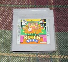 Kirby's Block Ball VERY RARE (Nintendo Game Boy)