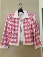 Escada suit jacket, size 38 (US equiv = 0/2; X-Small)