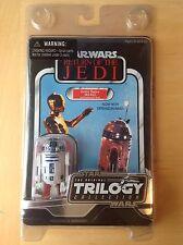 Trilogía de la guerra de las Galaxias original colección R2-D2 (en caso de figura de Star Wars)