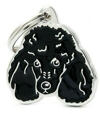 Poodle Dog ID Tag (20N) -  Engraved FREE -  Personalised Identity - Charm