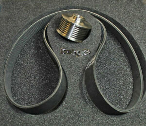 FORGE Supercharger Reduction Pulley for Audi 3.0T FMSCPS53T