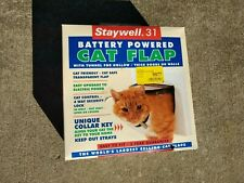 Staywell 31 Cat Flap Battery Powered