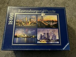 Ravensburger  #178223 Skylines Of The World 18000 PiecesMostly Sealed Inside