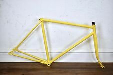 1982 RALEIGH 53CM VINTAGE LUGGED STEEL ROAD BICYCLE FRAME, NEWLY POWDERCOATED