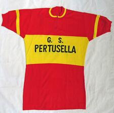 VTG maglia da ciclismo  G S PERTUSELLA WOOL LANA Cycling jersey top sport ITALY