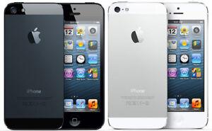 Apple iPhone 5 16GB 32GB 64GB WORLDWIDE GSM FACTORY UNLOCKED BLACK / WHITE