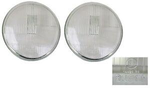 Bosch H1 Asymmetrical Headlight Lens,Set of 2, 911/912/930/912E,911.631.111.00