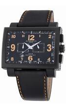 Montres De Luxe Men's 1690CR ORANGE 16:9 Estremo Aluminum Chrono Watch NIB