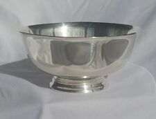 "Reed & Barton Sterling Silver Paul Revere Reproduction 4 1/2"" Bowl"