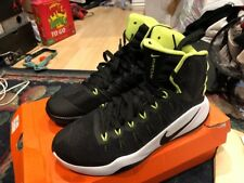 NIKE HYPERDUNK Volt Black 2016 SIZE 8 MEN'S BASKETBALL