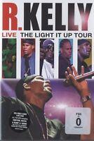 R.KELLY - LIVE! THE LIGHT IT UP TOUR  DVD  INTERNATIONAL POP CONCERT  NEW+