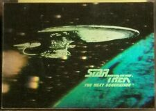 Star Trek 25th The Legend Continues Starship Enterprise Hologram Trading Card H2