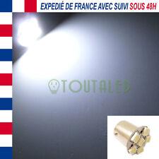 AMPOULE LAMPE 12V BA15S P21W 6 LED 5050 BLANC XENON BATEAU CAMPING CAR CARAVANE