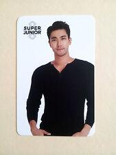 Super Junior COEX Artium SUM Official LIMITED PHOTO CARD Photocard - Siwon