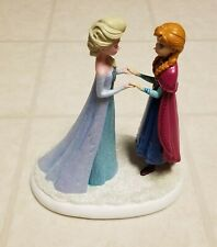 Disney A Sister's Love Warms The Heart Frozen Statue Elsa Anna