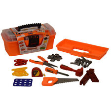 Kids Construction Tool Set With Handy Suitcase Pretend Play Toys Children Gift
