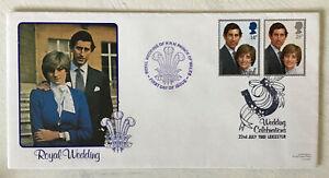 GB QEII 1981 Royal Wedding LDFC11 Benham official FDC Cat £15++