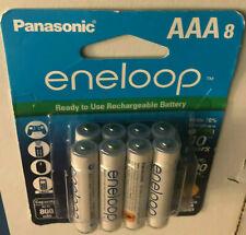 Panasonic Eneloop Rechargeable 1.2 V Ni-MH AAA Batteries -Pack of 8(BK-4MCCA8BA)