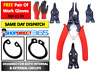 4 PIECE COMBINATION EXTERNAL INTERNAL CIRCLIP PLIER SET / SNAP RING TOOL 6-22
