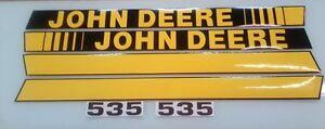 John Deere 535 Baler Decals