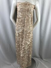 Guipure Lace - Champagne Mesh Dress Top Bridal Wedding Decorations By The Yard