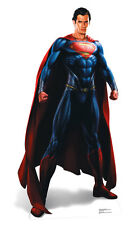 Man Of Steel (Superman) LIFESIZE PAPP FIGUR AUFSTELLER Aufsteller Henry's Cavill