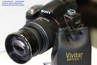 SONY ALPHA A230 A390 A100 A300 A330 A350 A500 2.2x HD Telephoto Zoom Lens