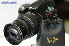 SONY ALPHA A3000 nex5 nex 2.2x telephoto zoom lens 49mm