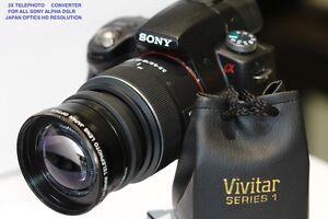 SONY ALPHA A3000 nex5 nex 2.2x telephoto zoom lens 49mm