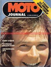 MOTO JOURNAL  248 HONDA CB 750 Four Cobra MARTIN SIMONINI 125 Barry Sheene 1976
