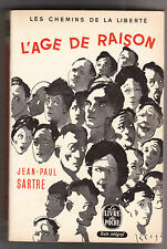 L'âge de raison - Jean-paul Sartre . Volume double 522/523 . 1965